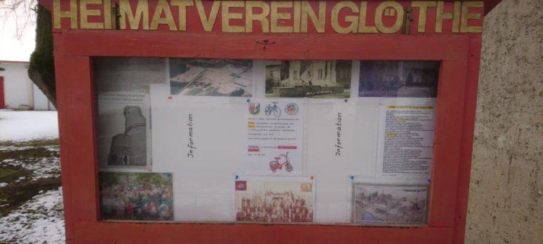 Der Heimatverein Glöthe hat einen Schaukasten