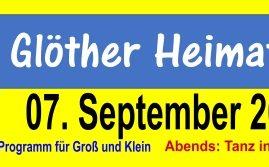 07.09.2019 – Heimatfest in Glöthe