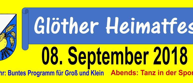 08.09.2018 – Heimatfest 2018 in Glöthe