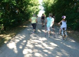 Nordic Walking in Glöthe