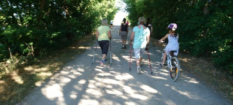 Nordic Walking in Glöthe